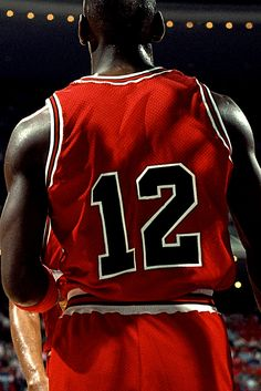 When Michael Jordan got his jersey stolen before a game and had to wear number 12