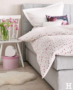 Bettwäsche zum Wohlfühlen. #meinhöffi Hygge, Sweet Home, Blanket, Home Decor Accessories, Deco, House Beautiful, Blankets, Cover, Comforters
