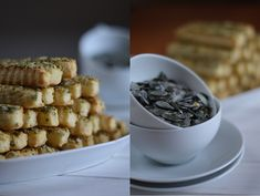 Tökmagos-juhtúrós stangli 🍴 Cereal, Vaj, Breakfast, Food, Morning Coffee, Eten, Meals, Corn Flakes, Morning Breakfast