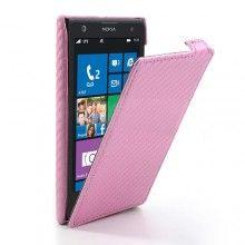 Funda Lumia 1020 - Flip Carbon Rosa  $ 188.00