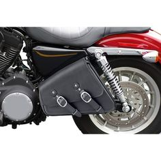 Harley Sportster 1200 Custom Swing Arm Motorcycle Saddlebags. Luggage and motorcycle bags for 1200 Custom. Hard and Leather Saddle Bags. Low Price. Shop Now!