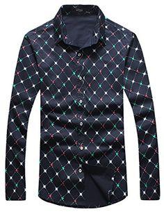 APTRO Men's Cotton Slim Fit Long Sleeve Casual Dress Shirt 5235 Plaid US XS APTRO http://www.amazon.co.uk/dp/B015XMB0C6/ref=cm_sw_r_pi_dp_T-oywb18A9FRF