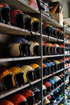 #helmets #motorcycles #motos | caferacerpasion.com