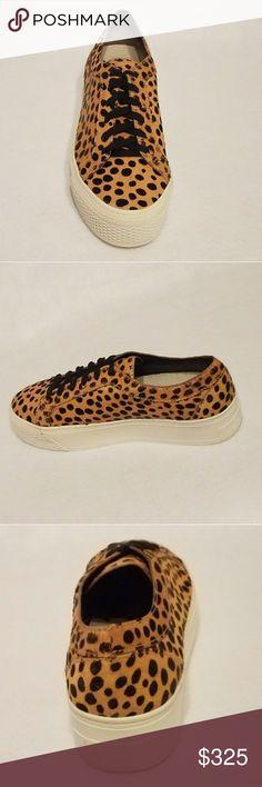 Loeffler Randall Miko Sneakers New cheetah print platform sneakers approximately 1.5 inch platforms. Size 8.5 Loeffler Randall Shoes Athletic Shoes