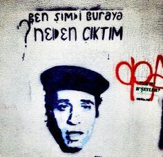 Kemal Sunal Wall art İzmir Bornova küçükpark