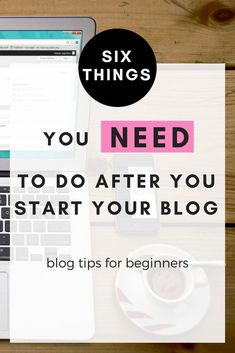 what to do after you started your blog