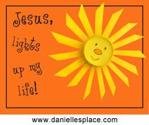 Jesus Lights up my Life Paper cup Bible craft from www.daniellesplace.com