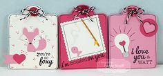 Valentine Tag Set by Jeanne Streiff #Tags, #ValentinesLove, #LittleBitsDies, #TE, #ShareJoy