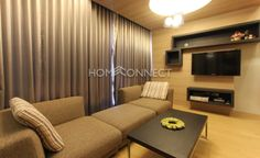 2 Bedroom Condo for Rent at Noble Reveal  -  Get information of this rental & other available condos or apartments for rent, go to http://www.homeconnectthailand.com/condo-buildings-a-to-z/  This trendy 2-bedroom condo for rent at Noble Reveal sits atop an upmarket high rise soaring above Bangkok skyline. Ready to move in today, this 83 square meter rent is ideal for a small urban family. The main are is in-vogue with an elongated fabric sofa, coffee table, floating consol