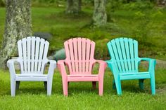 Find the best way to clean outdoor cushions, canvas seats and chair backs, and white and colored plastic chairs >> http://www.diynetwork.com/how-to/maintenance-and-repair/cleaning/cleaning-outdoor-furniture?soc=pinterest
