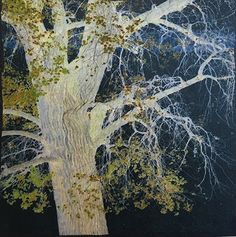 Night Tree, by Eleanor Sweeney by Adirondack Artists Guild Photographic Transfer Print ~ 6 x 6
