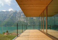 Modern House Design : Wohnhaus am Walensee (ch) by k_m architektur