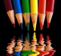 Rainbow | Arc-en-ciel | Arcobaleno | レインボー | Regenbogen | Радуга | Colours | Texture | Style | Form | via Alternative Purple