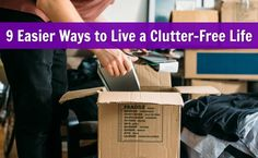clutter free life simplicity