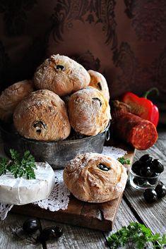 BLOGKONYHA: OLIVÁS CIABATTA Ciabatta, Croissant, Bread, Food, Brot, Essen, Crescent Roll, Baking, Meals