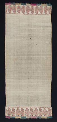 Shawl. Indian (Kashmir), 1785–90. Cashmere twill tapestry - in the Museum of Fine Arts Boston.