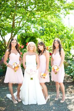 Donna Morgan bridesmaids dresses