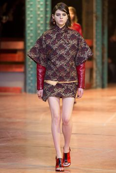 Kenzo Fall 2013 Ready-to-Wear Fashion Show Collection