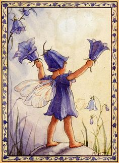 Bluebell fairy - artwork by Margaret Tarrant by sofi01, via Flickr
