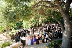 Kate Danson and Jesse Bocho's wedding took place in a garden at her families Ojai, California home