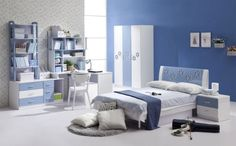 Blue Girl Bedroom Ideas