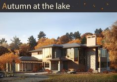 Autumn at the lake on Behance