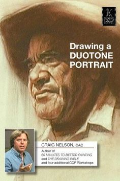 Drawing a Duotone Portrait with Craig Nelson