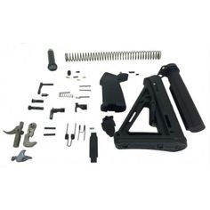 PSA Defender MOE Lower Build Kit - No ambi safety - 7778104