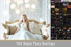 100 Bokeh Photo Overlays by MixPixBox on @creativemarket
