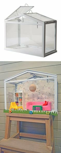 mommo design: IKEA HACKS - Socker dollhouse. I love to learn a bout this.