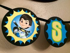 Miles from Tomorrowland Happy Birthday Banner - pinned by pin4etsy.com