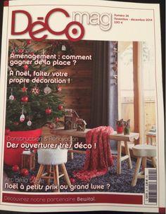 Article dans DECO MAG Décembre et Janvier 2014-2015 sur www.spot-lumiere-led.com
