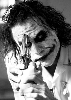 "Heath Ledger as The Joker in ""The Dark Knight"" Joker Dark Knight, The Dark Knight Trilogy, Batman Joker Wallpaper, Joker Wallpapers, Joker Pics, Joker Art, Joker Joker, Joker Pictures, Joker Frases"