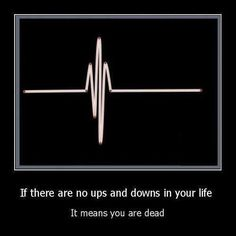 I don't mind the ups and downs. It is the occasional jerk that is annoying.