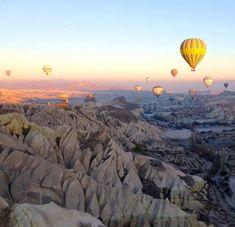 Cappadocia, turkey - balloon ride!