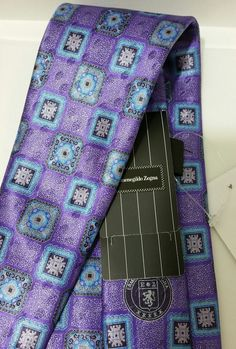 Ermenegildo Zegna Italian luxury gorgeous tie  NWT$220 (Special sale deal) #ErmenegildoZegna #NeckTie