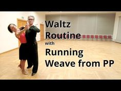 Waltz Routine with Running Weave fro PP Ballroom Dance Lessons, Ballroom Dancing, Dance Workout Videos, Dance Videos, Waltz Dance, Dance Routines, Learn To Dance, Lets Dance, Dance Moves
