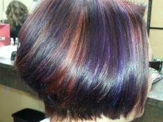 Fun colour at the salon