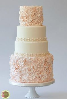 Champagne Flower Wedding Cakes Google Search Wedding Inspiration Pinter
