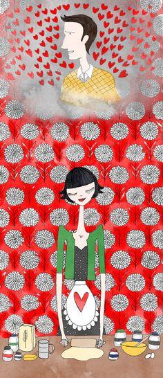 Impression de Amélie Poulain Illustration mode