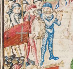 Diebold Schilling, Amtliche Berner Chronik, Bd. 3 Bern · 1478-1483 Mss.h.h.I.3 Folio 45