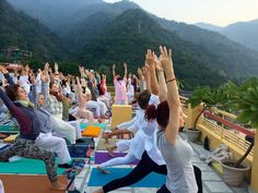Learn the #yogaexercises that are #trending and followed by most of the people. #300HourYogaTeacherTraininginRishikesh is the perfect option to pick to learn the latest yoga exercises.