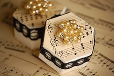 Music note box