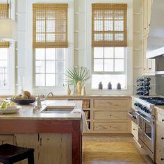 Natural Wonder - 5-Star Beach House Kitchens - Coastal Living
