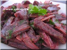 Fricassée de betteraves - Cuisine libanaise par Sahten