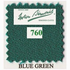 Kit tapis Simonis 760 7ft US Blue Green - 190,00 €  #Jeux