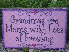 How was this not made special for my grandma and mine only!! lol- Perfect