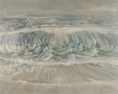 Edward Middleditch (British, 1923-1987), The Wave. Oil on canvas, 122 x 153 cm.viadappledwithshadow