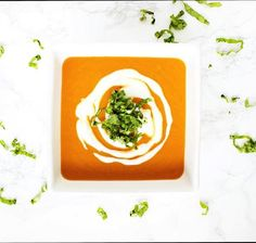 My Favorite Tomato Basil Soup