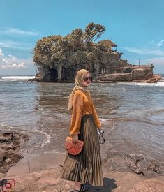 Ideas Casual Camping Outfits Fashion For 2019 Hijab Fashion Summer, Modern Hijab Fashion, Street Hijab Fashion, Hijab Fashion Inspiration, Muslim Fashion, Fashion Outfits, Fashion Fashion, Hijab Casual, Hijab Chic